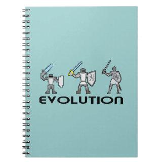 Knight Evolution Paper Notebook
