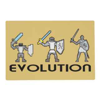 Knight Evolution Placemat Laminated Place Mat