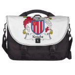Knight Family Crest Bag For Laptop