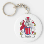Knight Family Crest Key Chains