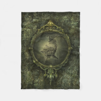 Knight Fantasy Small Fleece Blanket