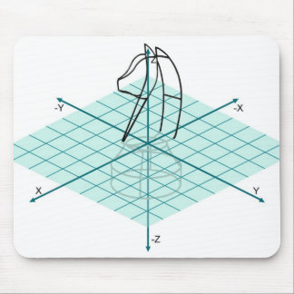 Knight Graph Mouse Pad