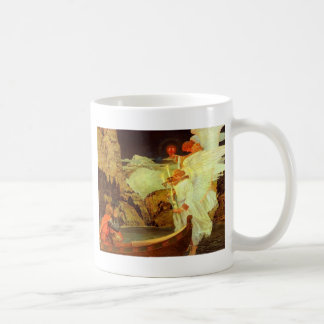 Knight Holy Grail Angels painting Coffee Mug