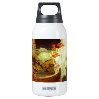 Knight Holy Grail Angels painting Thermos Water Bottle