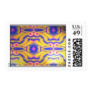 Knight Hood Postage Stamp