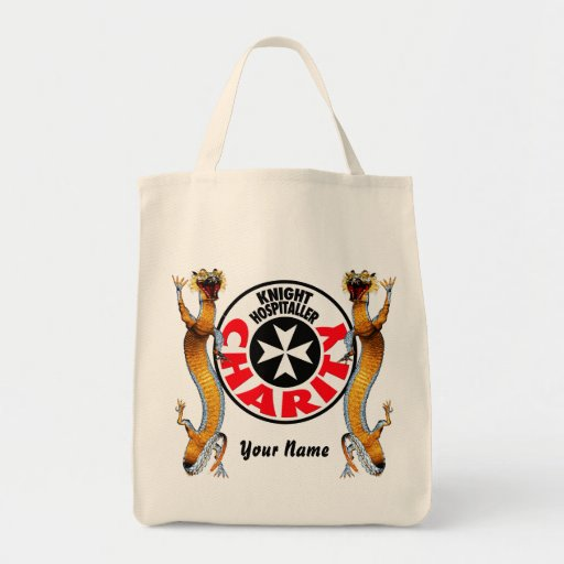 Knight Hospitaller Grocery Tote Bag