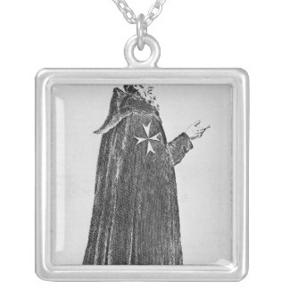 Knight Hospitaller in the original habit Custom Necklace