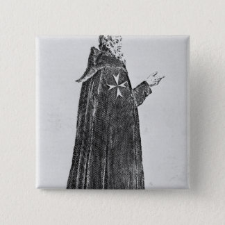 Knight Hospitaller in the original habit Pinback Button