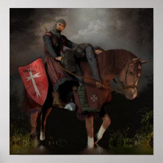 Knight Hospitaller of Saint John Poster
