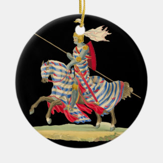 Knight in Armor Christmas ornament
