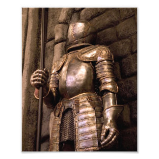 Knight in Armor Photograph
