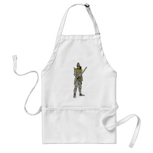 Knight in Armour Adult Apron