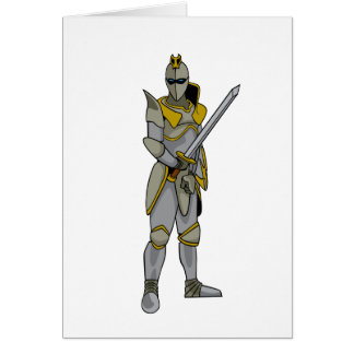 Knight in Armour Card