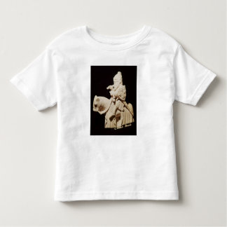 Knight in armour on his horse toddler t-shirt