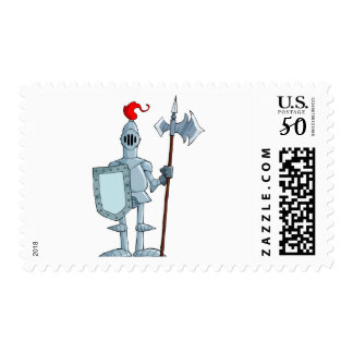 Knight In Armour Postage