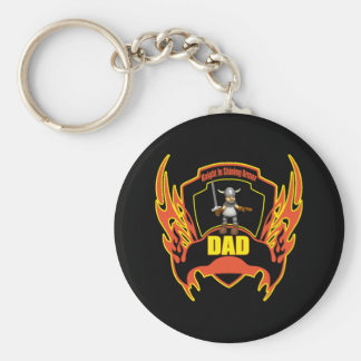 Knight In Armour T-shirts and Gifts For Dad Keychain