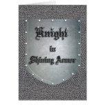 Knight in Shining Armor Card