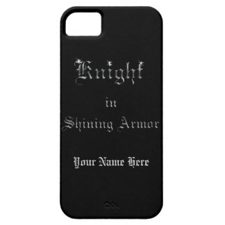 Knight in Shining Armor iPhone 5 Cover