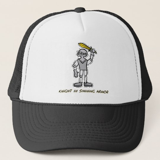 Knight in Shining Armor Costume Trucker Hat