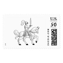 Knight In Shining Armor Postage