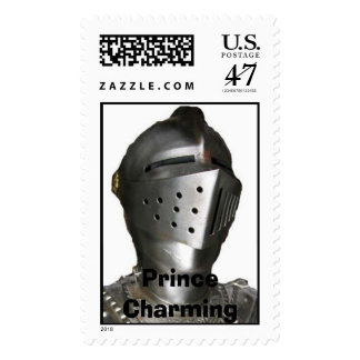 Knight in Shining Armor, Prince Charming Stamp