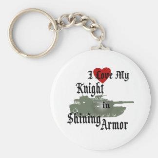 Knight in Shining Armor/ Tank Keychain