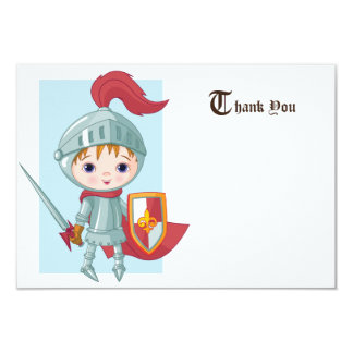 Knight in Shining Armor Thank You Card