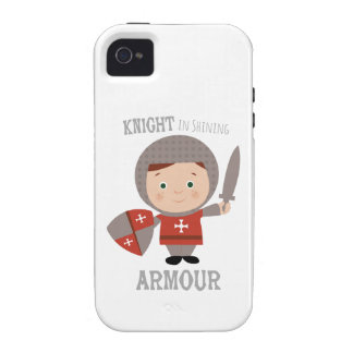 Knight In Shining Armour Vibe iPhone 4 Case