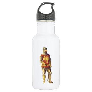 Knight in Suit of Armor 18oz Water Bottle