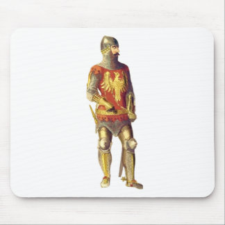 Knight in Suit of Armor Mouse Pad