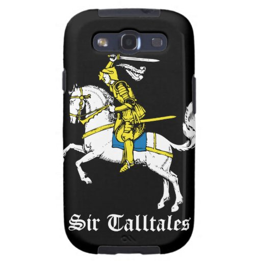 Knight in Yellow Armour Galaxy SIII Case