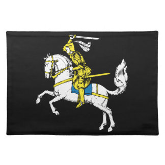 Knight in Yellow Armour Placemat