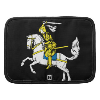 Knight in Yellow Armour Folio Planners