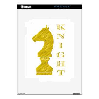 Knight iPad 2 Decals