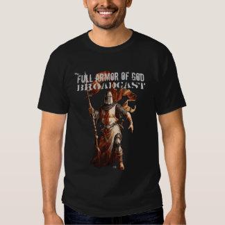 knight live trace 1, Full Armor of God, Broadca... T Shirt