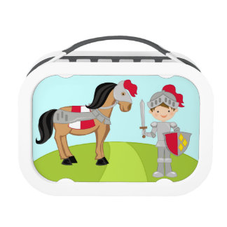 Knight Lunch Box Personalized with Childs Name