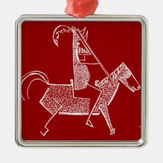 Knight Metal Ornament