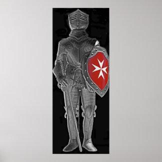 Knight of St John, Malta (1) Poster