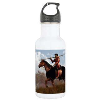 Knight of the Fall Quest Stainless Steel Water Bottle