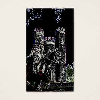 Knight of the Night Business Card
