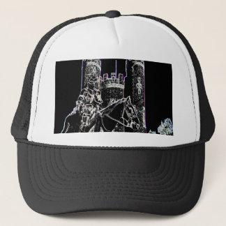 knight of the night trucker hat
