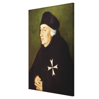 Knight of the Order of Malta, 1534 Canvas Print