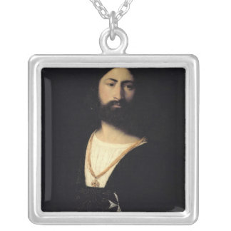Knight of the Order of Malta Silver Plated Necklace
