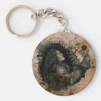 Knight of the Rose Keychain