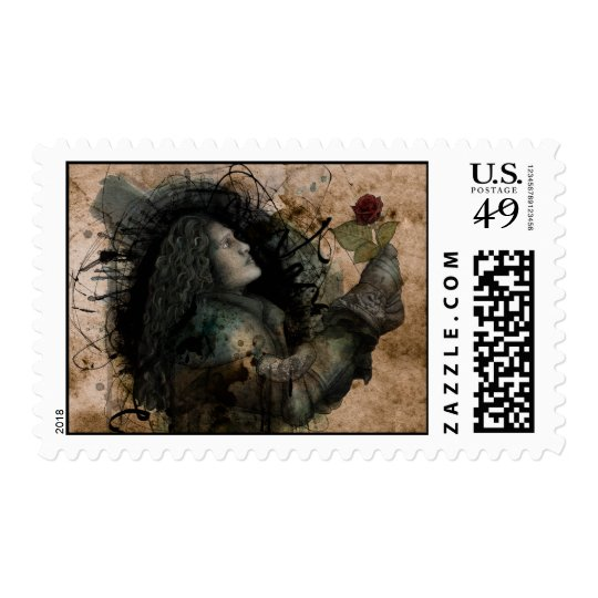 Knight of the Rose Postage