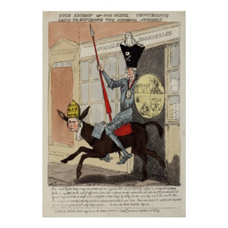 Knight of the Woeful Countenance Poster