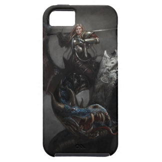 Knight on Dragon iPhone 5 Case