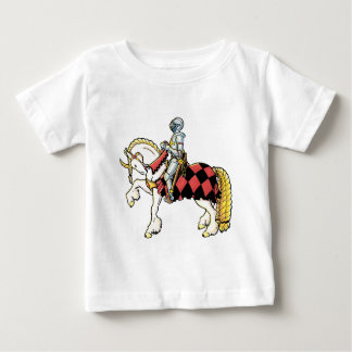Knight on His White Horse Baby T-Shirt