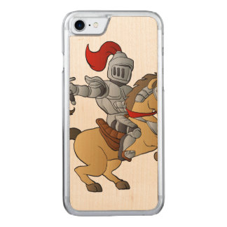 Knight on Horse Carved iPhone 7 Case