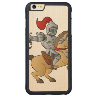 Knight on Horse Carved® Maple iPhone 6 Plus Bumper